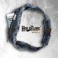 【HOLDTUBE】運動腰帶-單口皺褶袋-絢麗黑