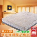 吉加吉 穗寶康 高密度 記憶厚床墊 SBC-8002 (單人3.5尺)