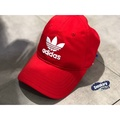 「plus +」ADIDAS Originals老帽 三葉草老帽 adidas老帽 鴨舌帽 亮紅 DJ0884