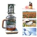 純露機 家用小型玻璃 中藥蒸餾器 水提煉花草 電加熱 迷你精油提取設備