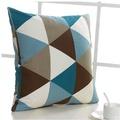 歐式波普大靠枕抱枕枕頭長方形沙發靠墊套子不含芯60*60現代簡約