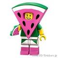 Lego小花式滑水Lego電影2系列71023西瓜男人| lego玩偶 Brickers