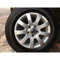 中古 福斯 原廠15吋鋁圈含胎 五孔112 6.5j et50 一組四個含胎12000元 VW T4 GOLF