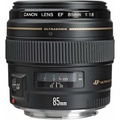 CANON EF 85mm F1.8 USM Camera Lens