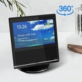 Echo Show Stand,360 Rotatable Mount Holder for Echo Show with Precision Bearings,Full Aluminum Echo Show Accessories,Stable metal Protection for Echo Show,Safety Bracket for Amazon echo show. - intl