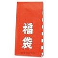 【寵愛物語包裝】日本進口 新春 福袋 雙面印花 角底袋 立體 紙袋 100入 S1