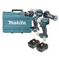 [阿木師]Makita牧田DLX2185GX1 DTW285衝擊套筒起子機+DHP481震動電鑽 無刷雙機組$17500