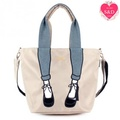 [mis zapatos]  Nylon Skinny Tote Pumps Tote /Shoulder/Crossover/Sling bag Heel Pattern