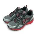 【DIADORA】全地形專業慢跑鞋 KEEP ON 急速衝刺系列 黑灰紅 3618 男