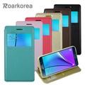 【ROARKOREA】Samsung Galaxy Note 5 開窗隱磁站立皮套