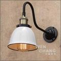 復古工業風 砝瑯烤漆 倉庫壁燈 LB-011《特價》*文昌家具*