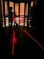 腳踏車安全平行線式 激光雷射+5LED燈+七種跑馬燈 自行車後燈 腳踏車尾燈 車線尾燈 單車警示燈