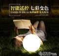 led發光圓球 花園草坪球形戶外落地裝飾球太陽能充電園林地燈燈夏洛特 LX