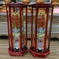【明祥】太子樓錫燈-雙色 尺六 一對價 神明用 錫燈 神明燈 46廠