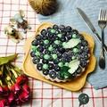 6吋 藍莓塔 進口新鮮藍莓 特製塔皮  純手工現做