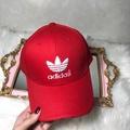愛迪達 adidas帽子 adidas 三葉草刺繡鴨舌帽 adidas男女鴨舌帽 棒球帽 漁夫帽 遮陽帽 潮流鴨舌帽