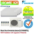 Daikin Multi Split Series Aircon [System 4] Avaliable in 4MKS80FSG WITH *New Installation with Upgraded Materials Services*
