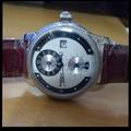機械錶 少見雙時區時計錶 (BOSSWAY)
