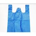 塑膠袋子特大號藍色包裝袋55*80手提收納袋馬夾背心垃圾袋90只裝 ------焦點旺鋪