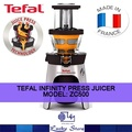 TEFAL INFINITY PRESS JUICER * ZC500 * MADE IN FRANCE * COLD PRESS JUICER * LOCAL WARRANTY SET