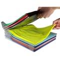 12PCS Clothes Organizer System Closet Drawer Office Storage Holder Desk Laundry Rack File Cabinet