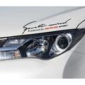 【湘阪車飾】豐田 TOYOTA RAV4 燈眉貼 大燈貼 引擎蓋貼 Previa Alphard Vios Sienta