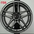類ENKEI SC37 17吋五孔100鐵灰色鋁圈~SKODA WISH ALTIS (88不是商品售價 請洽詢)