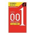 岡本零一(001)L尺寸3個裝[okamoto][避孕套][0.01毫米]避孕套避孕器具 kenko express