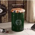 [HOME]鐵桶凳 油漆桶 復古綠鐵桶椅 油桶凳 收納桶 置物桶 英倫風仿舊工業風loft 收納凳 餐椅酒吧裝飾