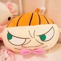 嚕嚕米Moomin亞美公仔抱枕靠墊午睡毯空調被 卡通大頭可愛亞美公仔娃娃空調被 亞美卡通可愛抱枕毯空調被