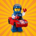 《Bunny》LEGO 樂高 71021 13號 第18代人偶包 賽車男 賽車裝