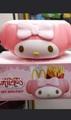 Mac Donald Japan My Melody fries holder