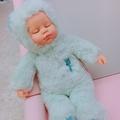 睡萌娃娃 sleeping baby 20cm 全新