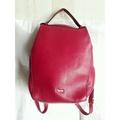 *後背皮包*黛安娜Diana Jane's 全新 桃紅色 真皮 軟式肩背包 後背包手提包 筆電包展示包 容量大 特價