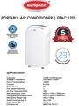 Europace EPAC 12T8 (New) Portable Aircon (12,000 BTU/HR)