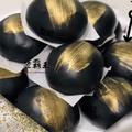 ☆竹碳黑金包☆爆漿流沙包 健康好吃 10顆入$188 【陸霸王】