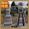 烏克麗麗包 ukulele琴包配件-23吋黑紅復古民族風帆布手提背包保護袋琴袋琴套69y27【獨家進口】【米蘭精品】