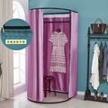 簡易試衣間門簾活動可摺疊移動更衣室臨時換衣間軌道服裝店展示架