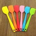 【A035】矽膠刮刀/一體成型小刮刀(不挑色)/ 矽膠刮板/麵包/ 餅乾/烹飪 /手工皂