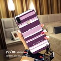 For Huawei Nova 3i Case Fashion Purple Stripe Soft TPU Silicone Back Cover for Huawei Nova 3i Phone Case