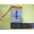 現貨 3.7V 聚合物鋰電池 383450 帶保護z板 800mAh MP3 小音箱電池[18114]  。