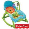 費雪Fisher-Price 可愛動物可攜式兩用安撫躺椅