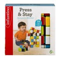 [Fastest Shipping]Infantino Press & Stay Sensory Blocks 6+m - 24 CT24.0 CT[USA]