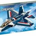 台南 LEGO 樂高 CREATOR 系列 31039 藍色動力噴射機 blue power jet