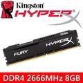金士頓HyperX FURY 8G DDR4-2666MHz記憶體(黑) 【HX426C16FB2/8】