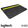 羅技 Logitech K480 多功能藍牙鍵盤 - 黑 920-006378