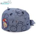 熱銷寶寶海盜帽春秋3-6-12個月嬰兒棉布帽秋小孩海盜帽男女童帽兒童帽