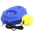 單人網球訓練座 橡皮筋球 + 底座/一組入{定250} 網球訓練器 網球練習座~群