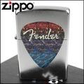 【ZIPPO】美系~Fender-吉他Pick彈片圖案彩印打火機