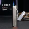 充氣打火機防風個性創意焊槍金屬砂